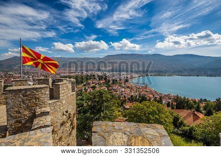 View From The Fortress Of Tsar Samuel - Ohrid, Macedonia, Europe