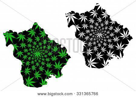 Vinh Phuc Province (socialist Republic Of Vietnam, Subdivisions Of Vietnam) Map Is Designed Cannabis