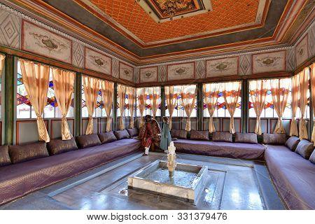 Bakhchisaray, Crimea - July 2.2019. Interior Of Bakhchisaray Palace, Residence Of Crimean Khans Of X