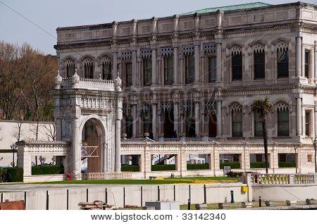 Ciragan palace luxury Istanbul hotel