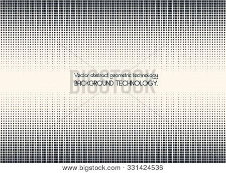 Geometric Vector Shapes Technology Abstract  Background. Minimal Style Dynamic Tech Wallpape. Dissol