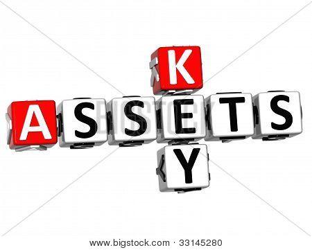 3D Assets Key Crossword