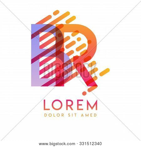 Rb Logo With The Theme Of Galaxy Speed And Style That Is Suitable For Creative And Business Industri