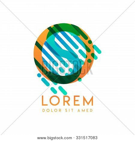 So Logo With The Theme Of Galaxy Speed And Style That Is Suitable For Creative And Business Industri