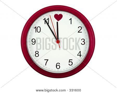 Relógio dia dos Namorados
