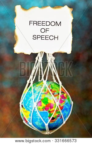 Freedom Of Speech—the Right To Freely Express One's Thoughts Orally And In Writing In The Press And
