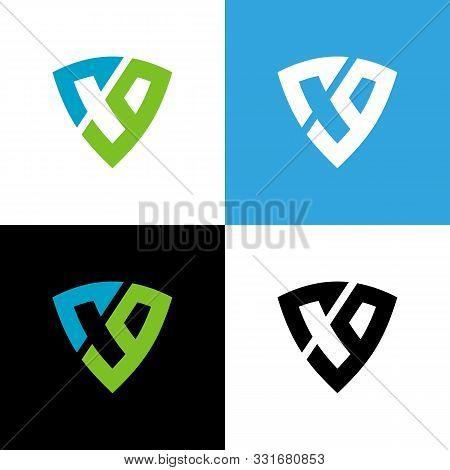 Letter Cg Or C9 Logo Design Template Elements, Shield Symbol Illustration - Vector