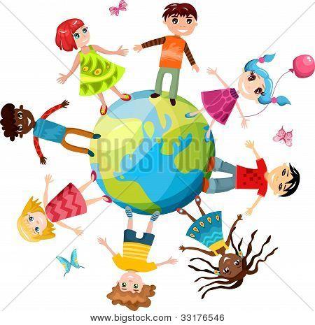 children ih the world