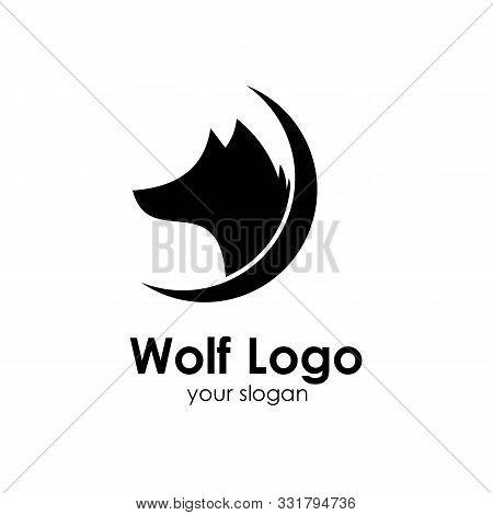 Wolf Logo Template, Design Concept Vector Illustration