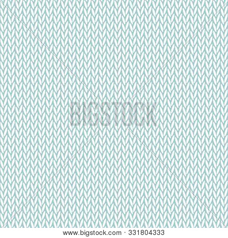 Knitted Background. Seamless Vector Illustration With Knitted Texture