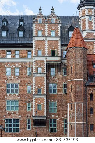Renaissance Brick Build House Of The Society Of Naturalists With Distinctive Multistorey Oriel At Lo