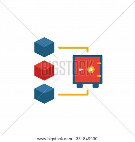 Proof Of Stake Icon. Simple Element From Blockchain Icons Collection. Creative Proof Of Stake Icon U