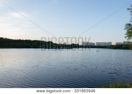 Borisov Ponds In The Southern Administrative District Of Moscow, In The District Orekhovo-borisovo