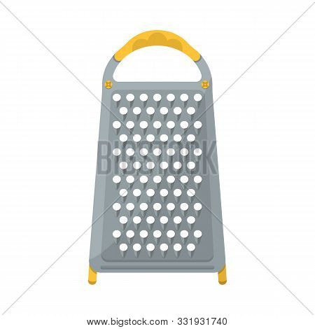 Isolated Object Of Grater And Flatware Symbol. Web Element Of Grater And Instrument Stock Vector Ill