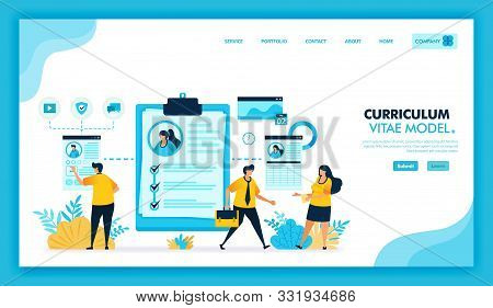 Online Curriculum Vitae And Online Cv To Register And Find Work In Company. Job Search Or Vacancies