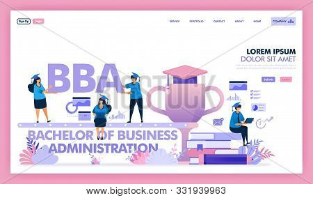 Bba Or Bachelor Of Business Administration Is A University Program For Business And Economics, Peopl