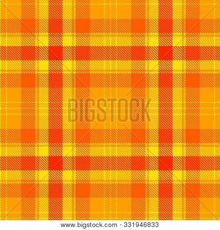 Retro Tartan For Fabric Design. Modern Abstract Concept. Seamless Pattern Tartan. Graphic Vector Bac