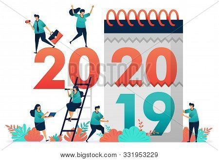 Change Of Work Years From 2019 To 2020. Guess Employment Prospect In Next Year, Analyze Potential Gd