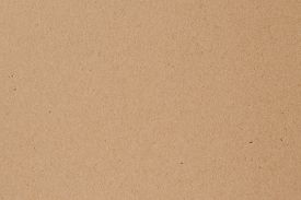 Light Brown Wrapping Texture. Vintage Paper Sheet Background. Natural Color Surface Of Packaging. Vi