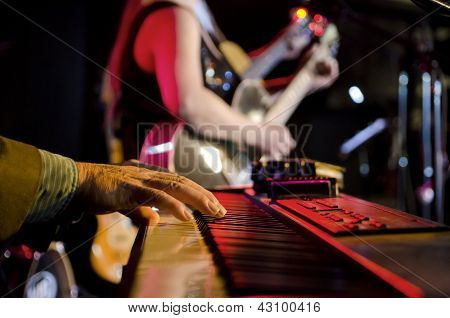 Focus On Keyboard
