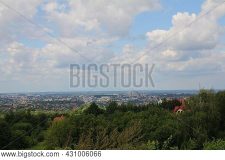 View Of The City From Green Areas, City Panorama, City In Podkarpacie, Podkarpackie, Rzeszów, City I