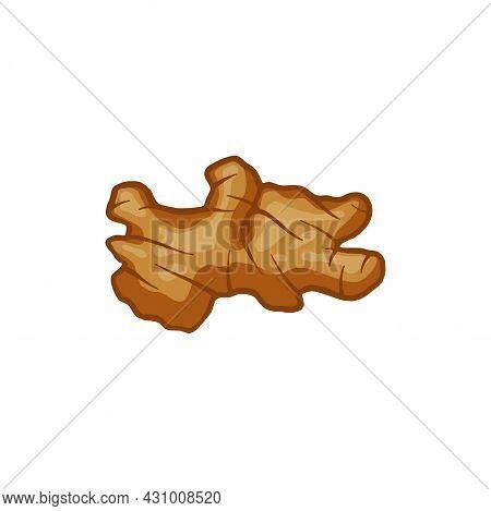 Ginger Icon. Ginger Illustration Isolated On White Background. Ginger Vector Simple Sign. Ginger For