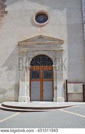 Prats De Llucanes Church In Barcelona Catalonia Spain