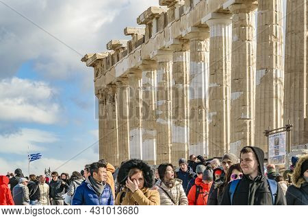Acropolis Parthenon, Athens, Greece
