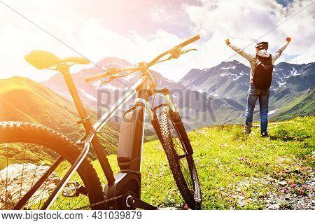 E Bike Cycle In Austria. Rental Ebike In Nature