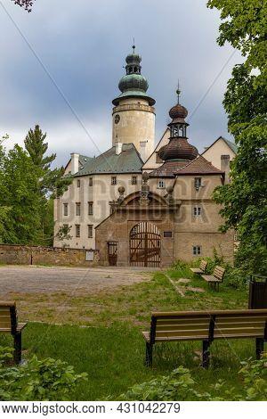 Lemberk castle near Jablonne v Podjestedi, Northern Bohemia, Czech Republic