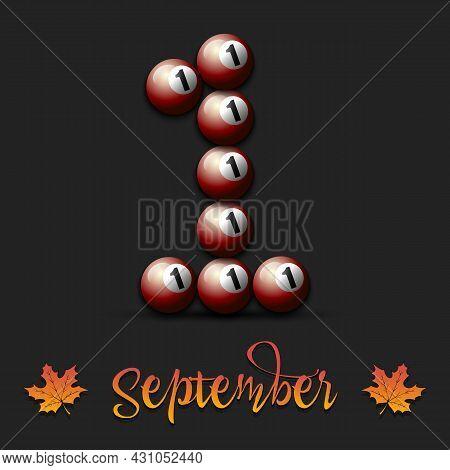 September 1 From Billiard Balls