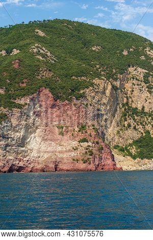 Wilderness Coast Of The Cinque Terre National Park, Unesco World Heritage Site. La Spezia, Liguria,
