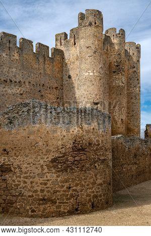 Valencia De Don Juan - Spain: Medieval Castle Of Valencia De Don Juan, León, Castilla Y León, Spain.