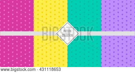 A Set Of Vector Stylish Fashionable Patterns Of Patterns In Silver And Gold Colors.templates For Bir