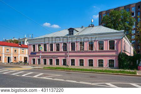 Former House Of Merchant Shurov On Bolshaya Pochtovaya Street In Moscow, 1798, Attraction: Moscow, R