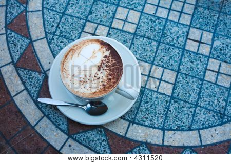 Cappuccino On Table