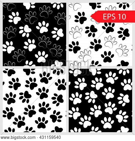 Cute Patterns And Textures Can Be Used For Printing Onto Fabric, Web Page Background And Paper. Set