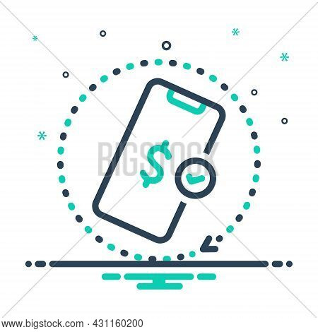 Mix Icon For Afford Mobile Grant Pay Expense Payment App