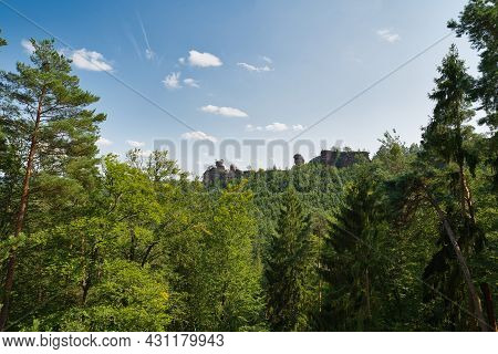 Greats Rocks In Dahn Rockland, Germany, Palatinate Forest
