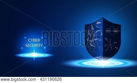 Protection Cyber Security Technology, Shield Security, Internet Of Things, Iot, Connection Network