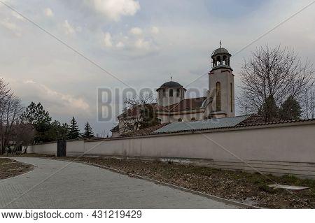 Sofia, Bulgaria -  March 24, 2012: View Of The Orthodox Church