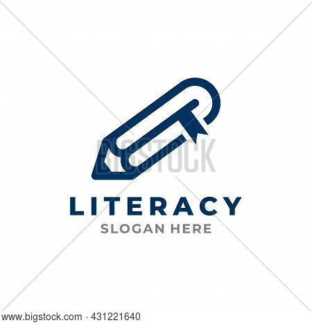 Literacy Logo Template Design