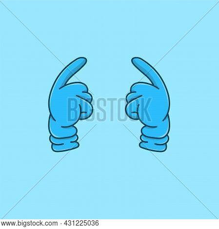 2 Pink Hand Gloves