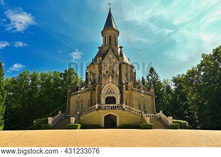 Beautiful Old Tomb. Schwarzenberg Tomb - The Tomb Of The Schwarzenberg Family. Třeboň - Czech Republ