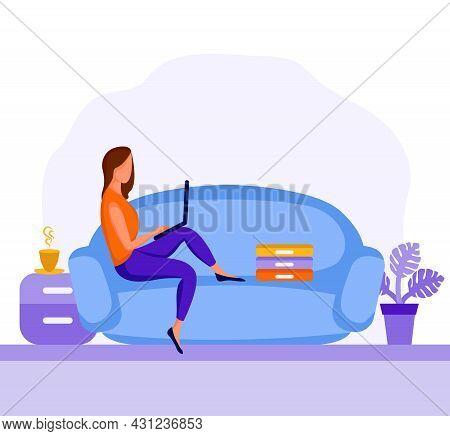 Girl Sitting In Armchair 6 Dd Ww Isol