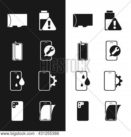 Set Mobile Service, Glass Screen Protector, Micro Sd Memory Card, Smartphone Battery Charge, Waterpr