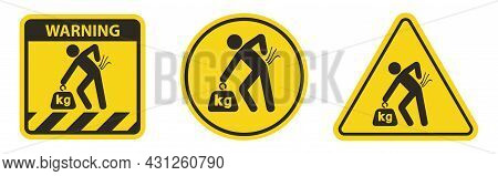 Lifting Hazard May Result In Injury See Safety Manual For Lifting Instructions