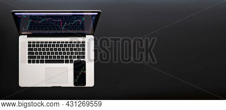High Technology. Finance Application For Sell, Buy And Analysis Profit Dividend Statistics. Investme
