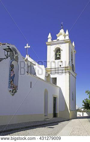 Church Of Our Lady Of Conception In Ferragudo, Algarve, Portugal