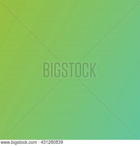 Abstract Gradient Color Background. Green Ash Color Mix  With Illuminating Yellow And Mint. Backgrou